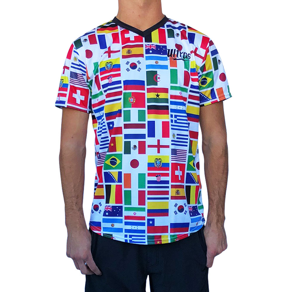 World Cup 2014 32 Flags Soccer Jersey
