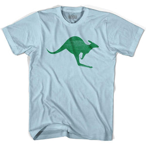 Australia Aussie Kangaroo Adult Cotton Soccer T-shirt by Ultras