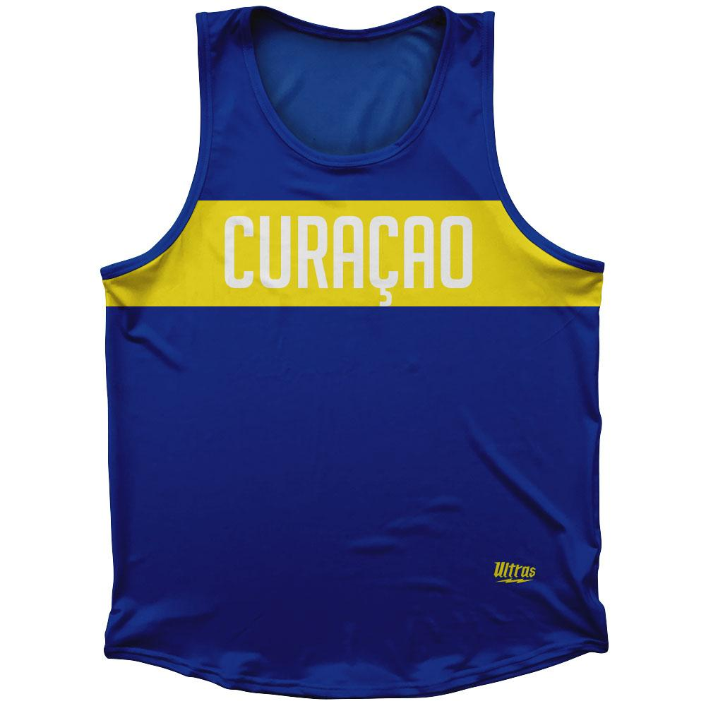 Curacao Country Finish Line Athletic Sport Tank Top Made In USA