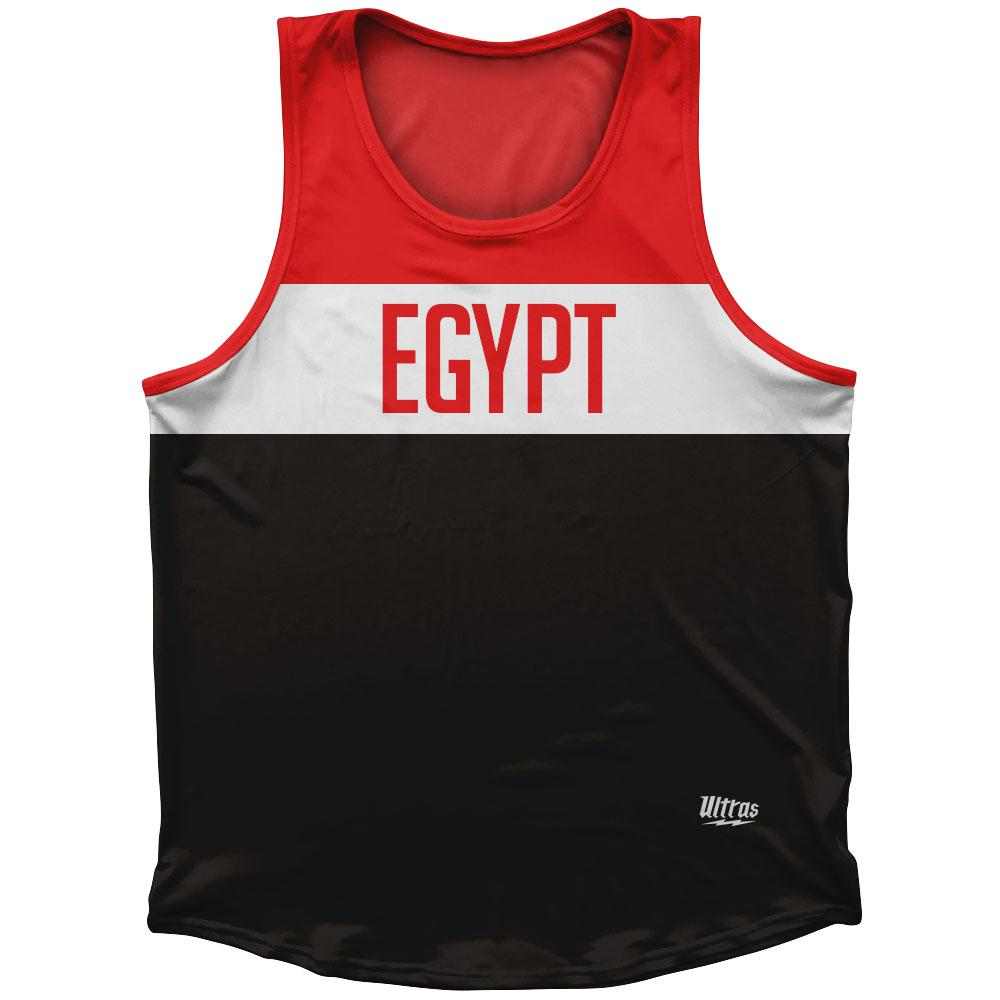 Egypt Country Finish Line Athletic Sport Tank Top Made In USA