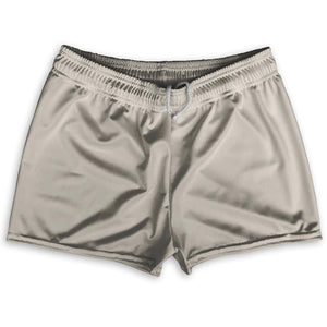 "Grey Shorty Short Gym Shorts 2.5""Inseam By Ultras Sportswear"
