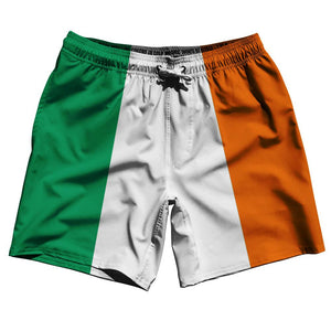 "Ireland Country Flag 7.5"" Swim Shorts by Ultras"