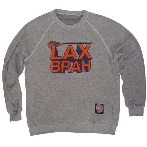 Lax Brah Lacrosse Fleece Raglan Style - Final Sale - $20 - Medium