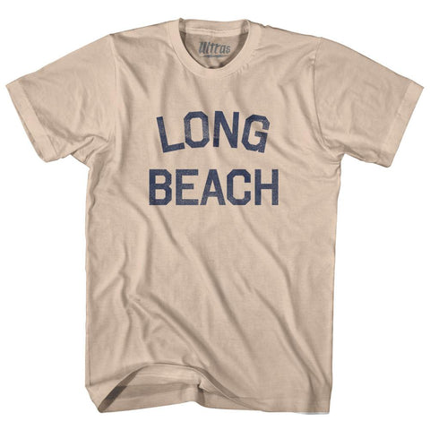 Mississippi Long Beach Adult Cotton Vintage T-shirt by Ultras