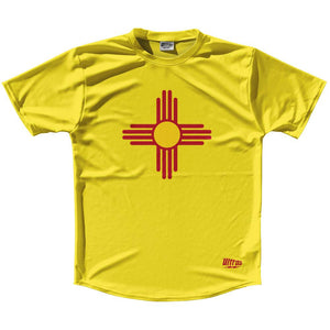 Ultras New Mexico State Flag Running Cross Country Track Shirt Made In USA by Ultras