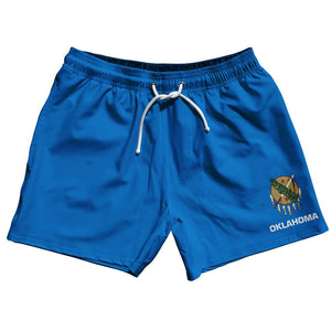 "Oklahoma US State 5"" Swim Shorts by Ultras"