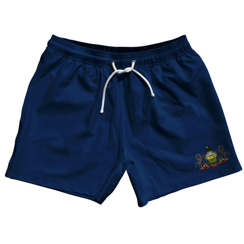 "Pennsylvania US State 5"" Swim Shorts by Ultras"