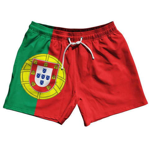 "Portugal Country Flag 5"" Swim Shorts by Ultras"