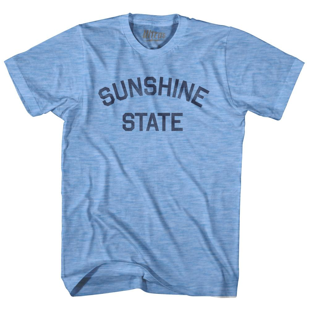 South Dakota Sunshine State Nickname Adult Tri-Blend T-shirt by Ultras