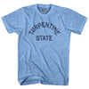 North Carolina Turpentine State Nickname Adult Tri-Blend T-shirt by Ultras