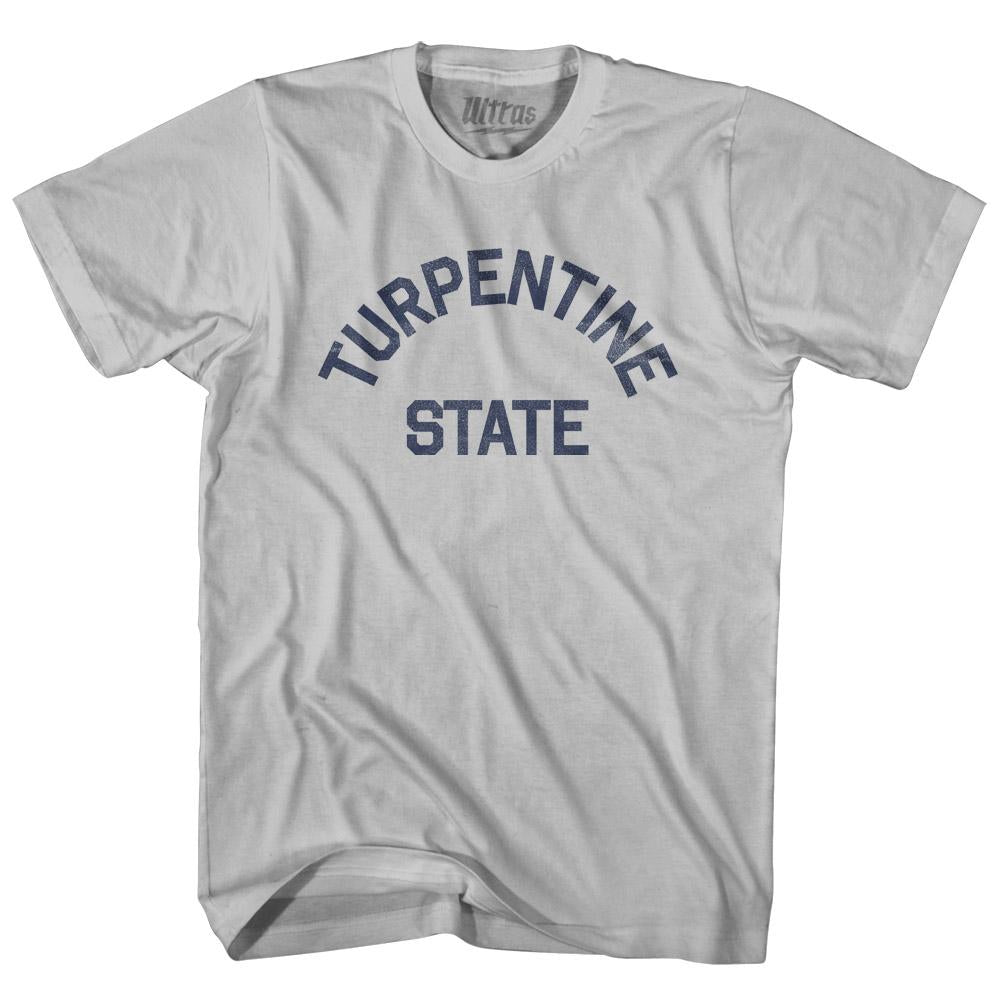 North Carolina Turpentine State Nickname Adult Cotton T-shirt by Ultras