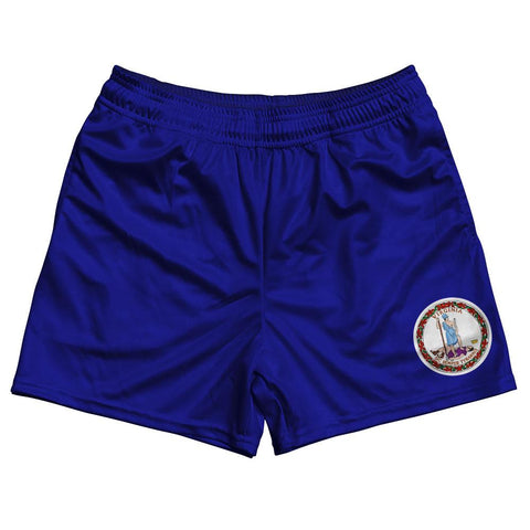 Virginia State Flag Rugby Shorts Made In USA by Ruckus