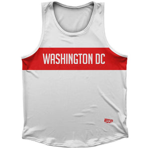 Washington DC Finish Line Athletic Sport Tank Top Made In USA by Ultras
