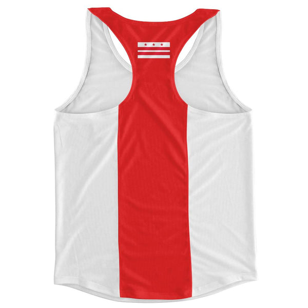 Washington DC City Finish Line Running Tank Top Racerback Track and Cross Country Singlet Jersey