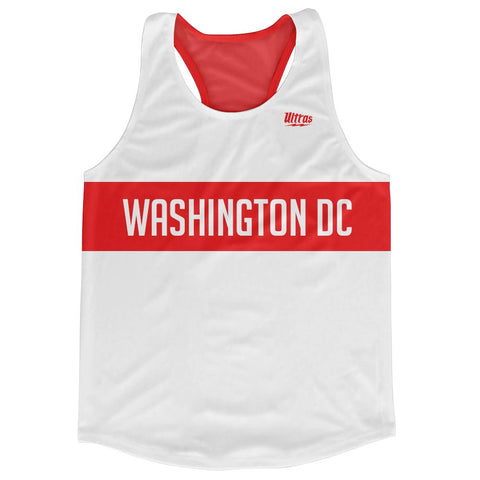Washington DC City Finish Line Running Tank Top Racerback Track and Cross Country Singlet Jersey by Ultras