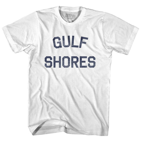 Alabama Gulf Shores Adult Cotton Vintage T-shirt by Ultras