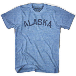 Alaska Union Vintage T-shirt - Athletic Blue / Adult X-Small - Mile End City