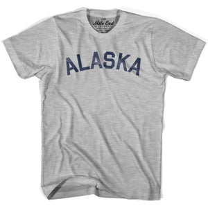 Alaska Union Vintage T-shirt - Grey Heather / Youth X-Small - Mile End City