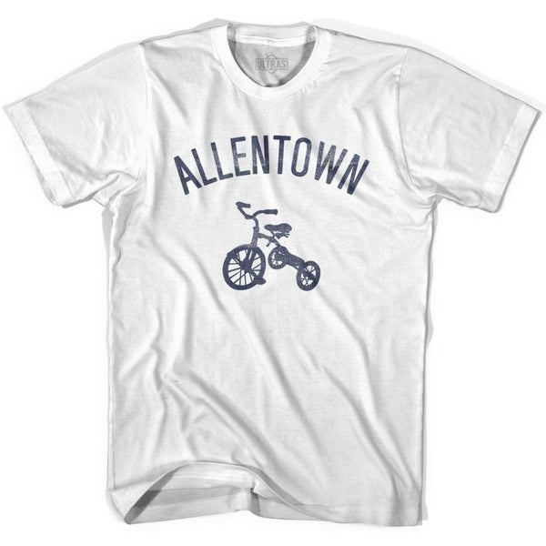 Allentown City Tricycle Womens Cotton T-shirt - Tricycle City