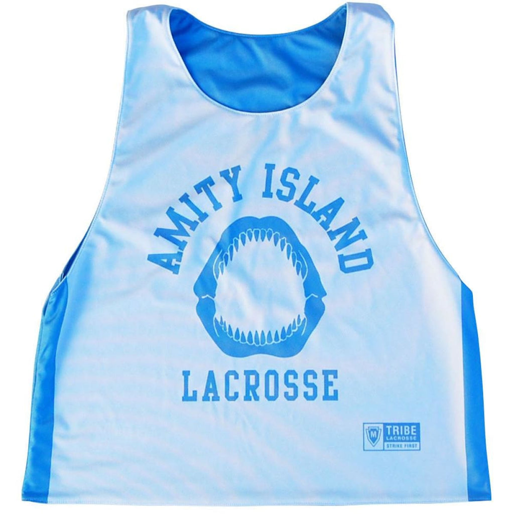 Amity Island Lacrosse Reversible Pinnie - Graphic Lacrosse Pinnies