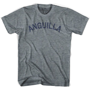 Anguilla City Vintage T-shirt - Athletic Grey / Adult X-Small - Mile End City
