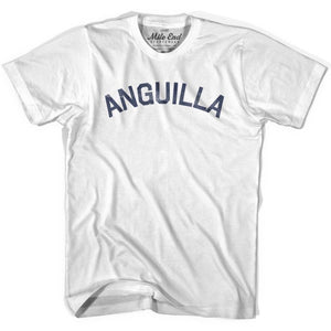 Anguilla City Vintage T-shirt - White / Youth X-Small - Mile End City