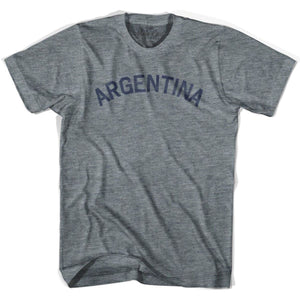 Argentina City Vintage T-shirt - Athletic Grey / Adult X-Small - Mile End City