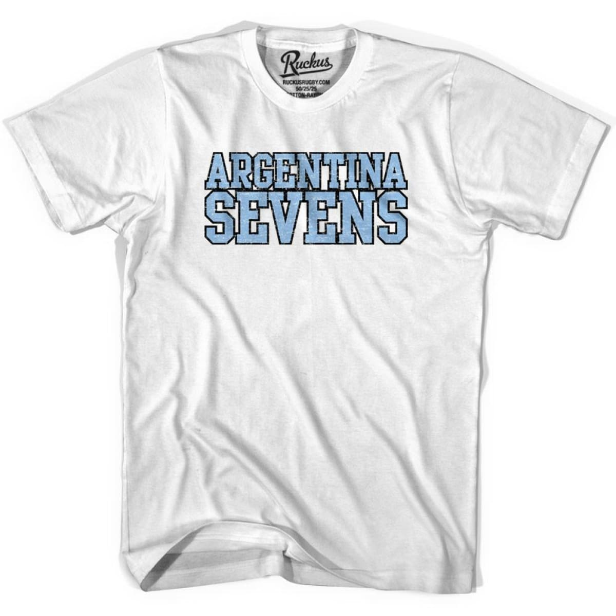 Argentina Seven Rugby T-shirt - Cool Grey / Youth X-Small - Rugby T-shirt