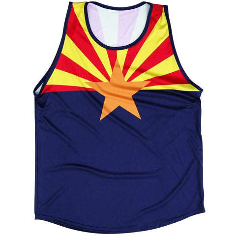 Arizona Flag Sport Tank - Lacrosse Tank Top