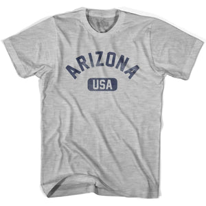 Arizona USA Youth Cotton T-shirt - Grey Heather / Youth X-Small - USA State