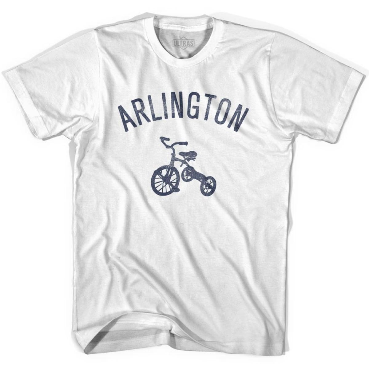 Arlington City Tricycle Womens Cotton T-shirt - Tricycle City