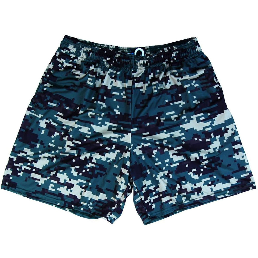 Army Digital Athletic Shorts - Camo / Youth X-Small - Athletic Shorts
