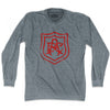 Long sleeve Arsenal AFC crest Athletic Grey Large T-shirt- Final Sale