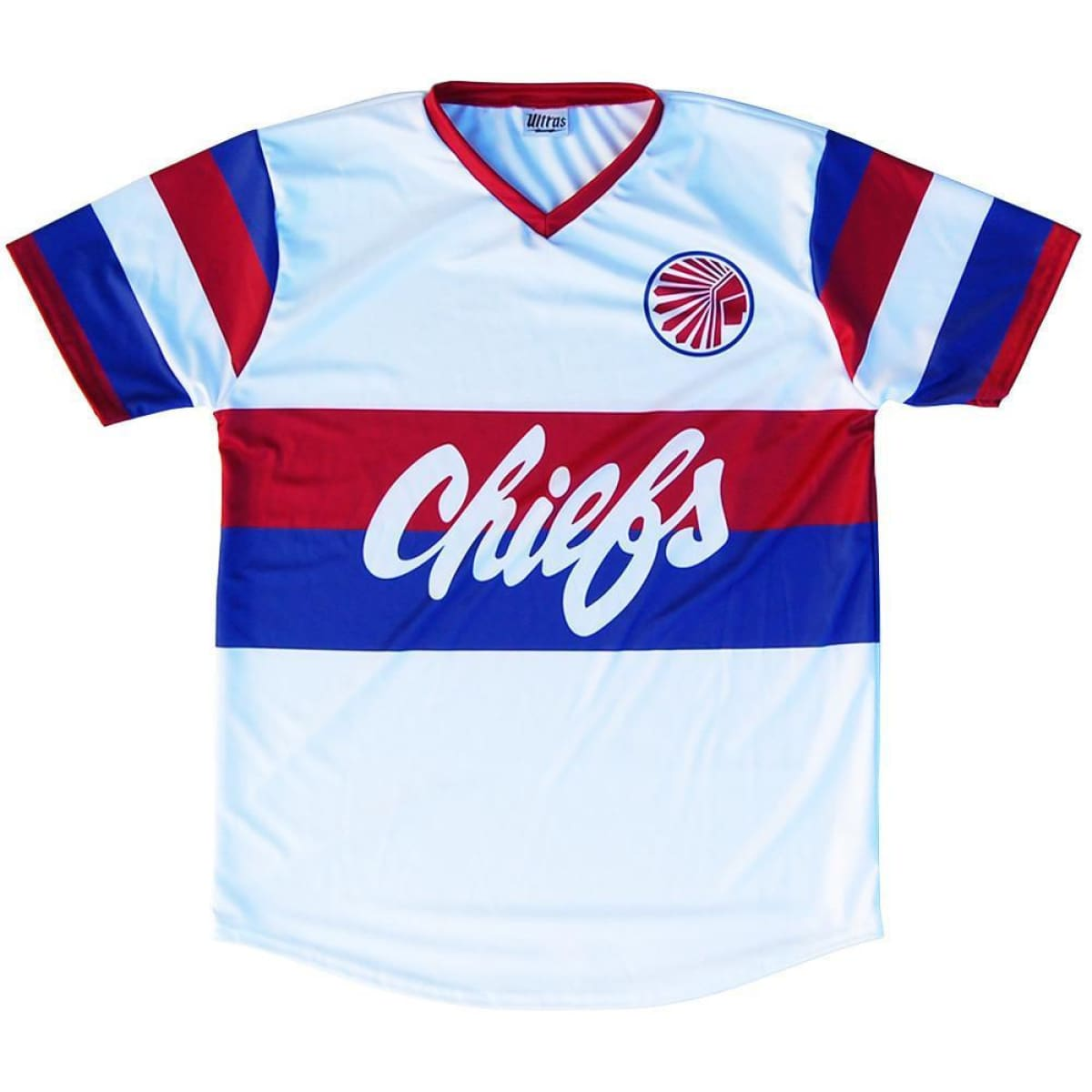 Atlanta Chiefs Retro Soccer Jersey - White / Toddler 1 / No - Ultras NASL Soccer Jerseys