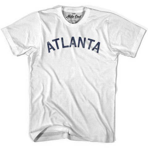 Atlanta City Vintage T-shirt - Grey Heather / Youth X-Small - Mile End City