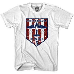Atletico Madrid Crest T-shirt - White / Youth X-Small - Ultras Soccer T-shirts