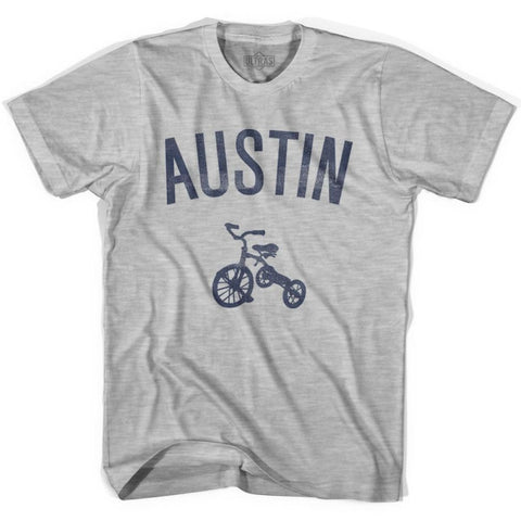 Austin City Tricycle Youth Cotton T-shirt - Tricycle City