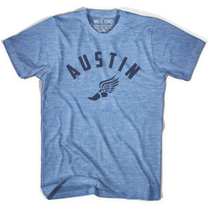 Austin Track T-shirt - Athletic Blue / Adult X-Small - Mile End Track