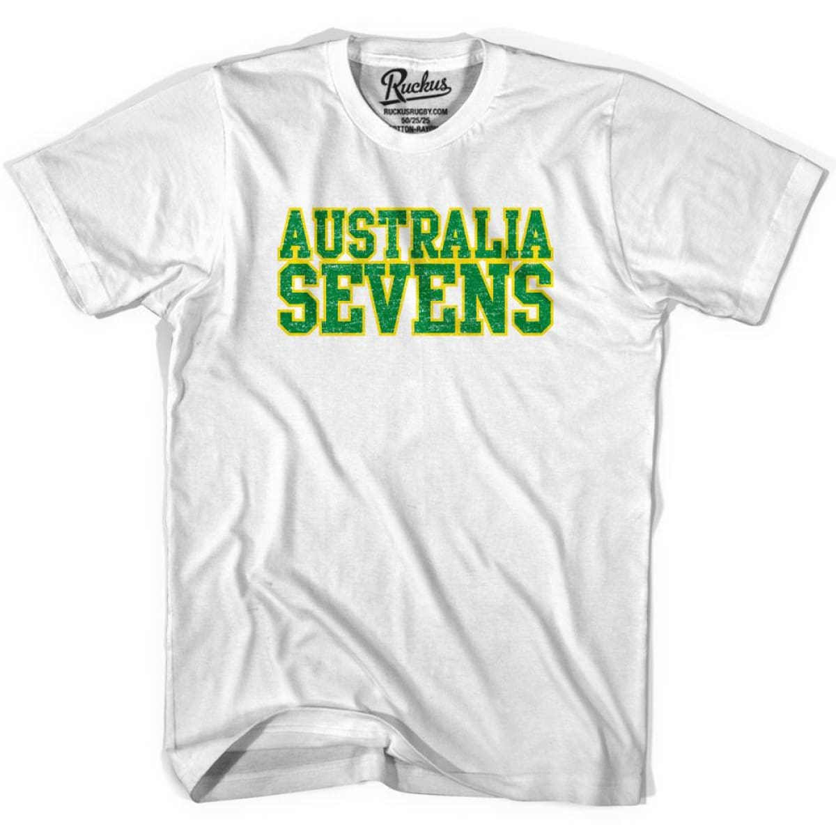 Australia Seven Rugby T-shirt - Cool Grey / Youth X-Small - Rugby T-shirt