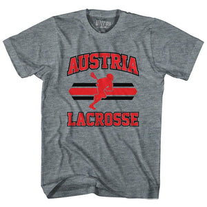 Ultras - Austria 90's Lacrosse Team Tri-Blend Adult T-shirt