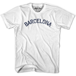 Barcelona Vintage T-shirt - Grey Heather / Youth X-Small - Mile End City