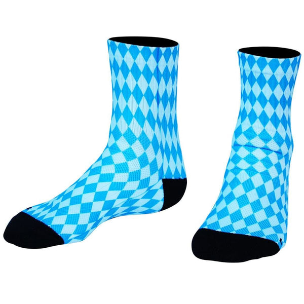 Bavarian Diamonds Premium Athletic Half Crew Socks - Socks