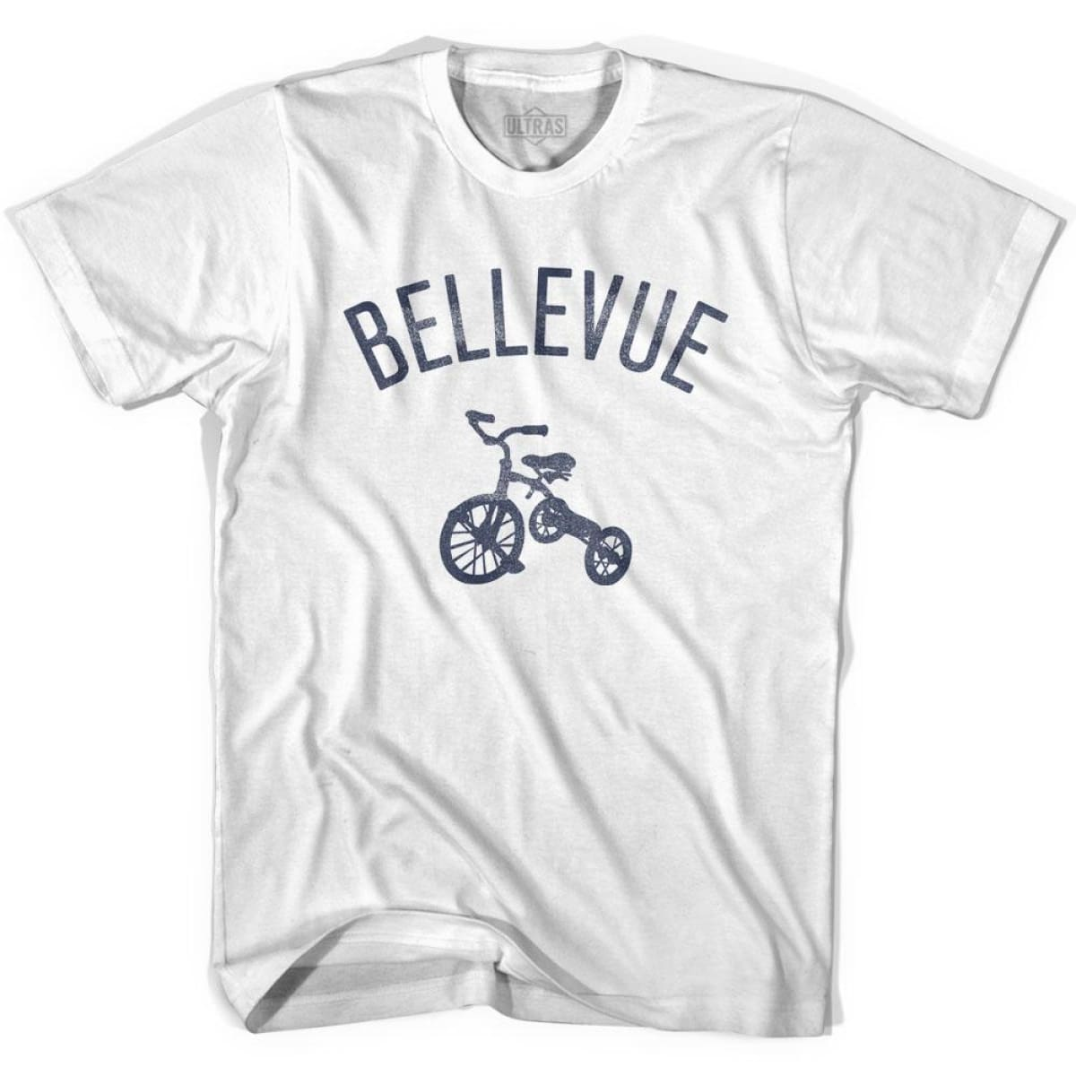 Bellevue City Tricycle Womens Cotton T-shirt - Tricycle City