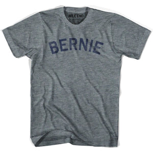 Bernie City Vintage T-shirt-Adult - Athletic Grey / Adult Small - Mile End City
