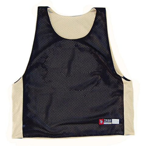 Vegas Gold and Black Lacrosse Pinnie in Vegas Gold/Black by Tribe Lacrosse