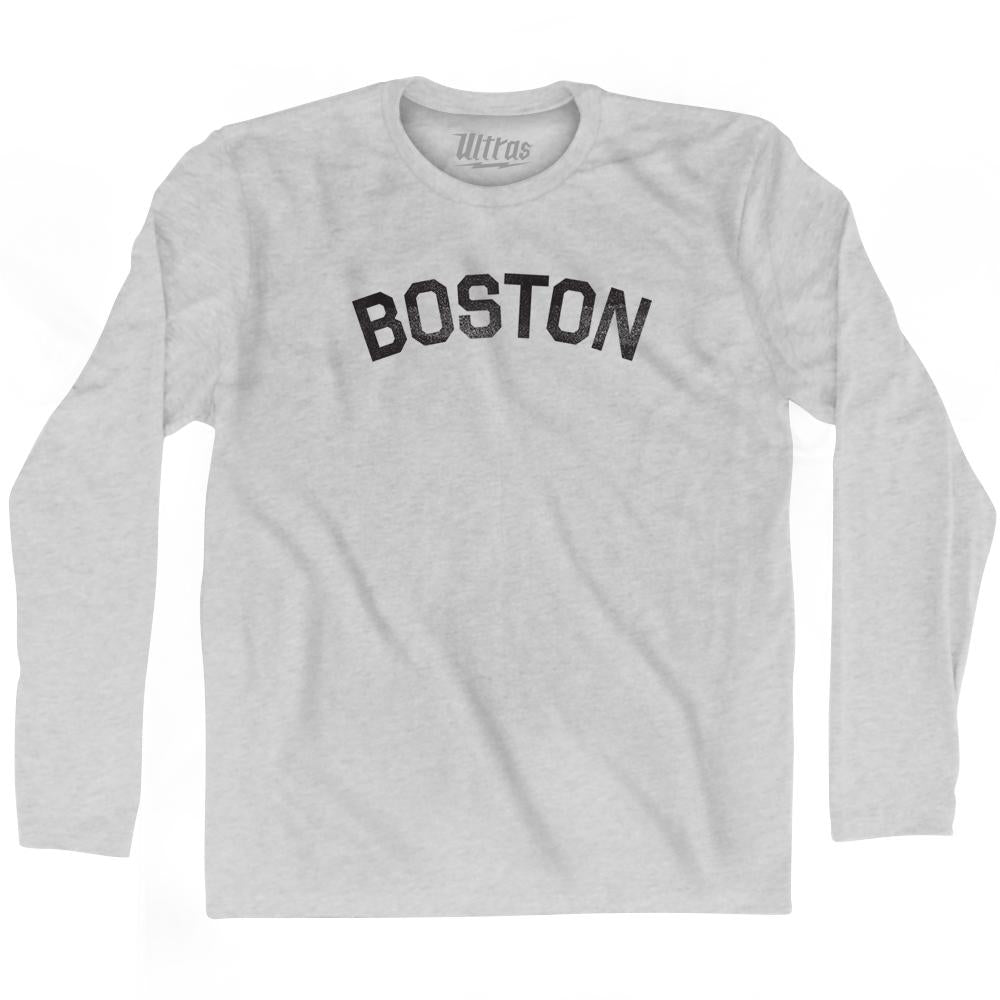 Boston Adult Cotton Long Sleeve T-shirt by Ultras