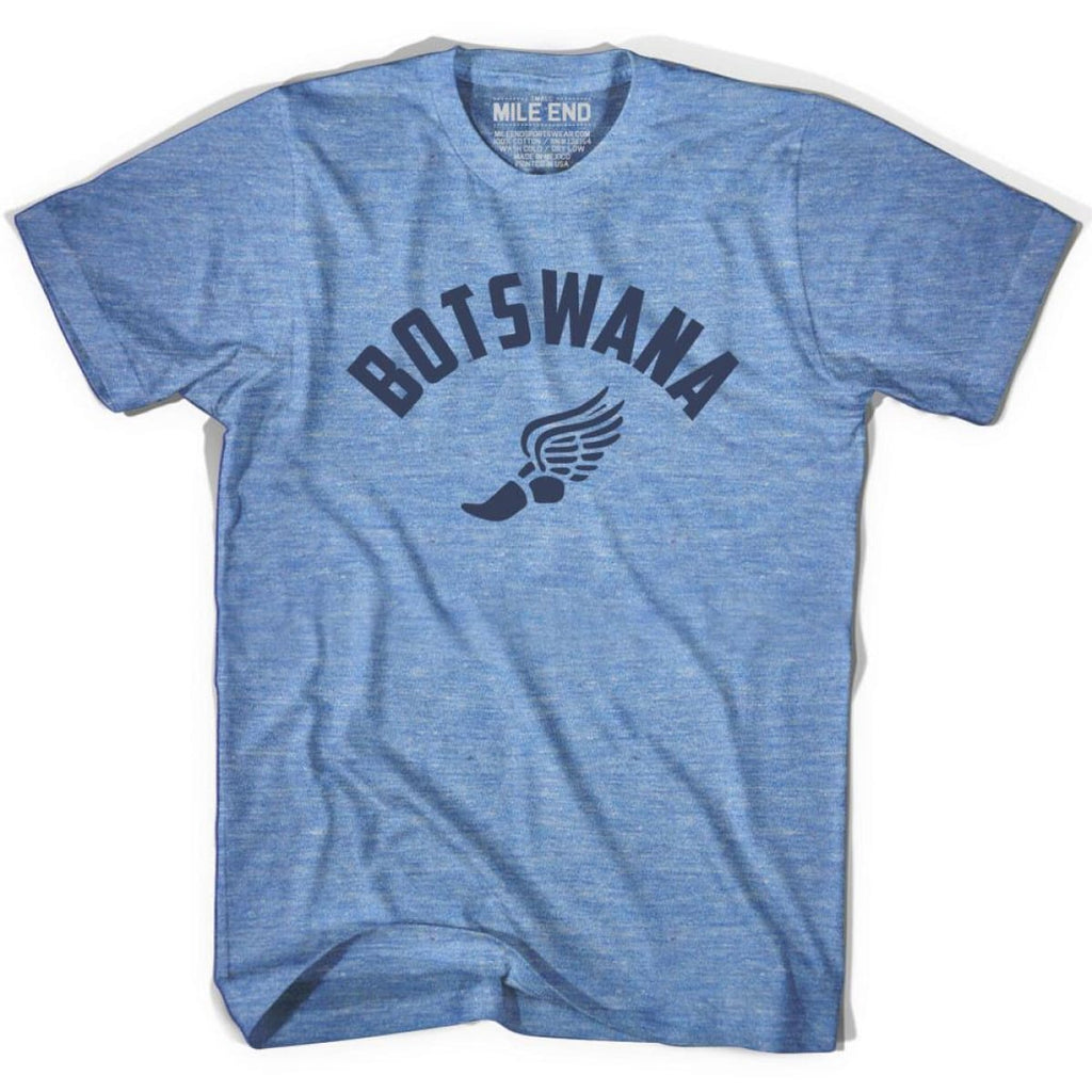 Botswana Track T-shirt - Athletic Blue / Adult X-Small - Mile End Track