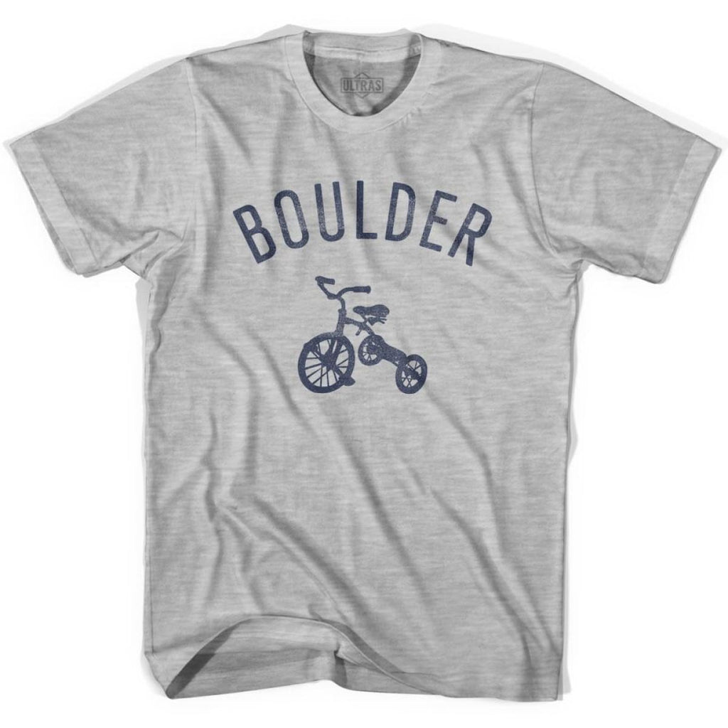 Boulder City Tricycle Womens Cotton T-shirt - Tricycle City