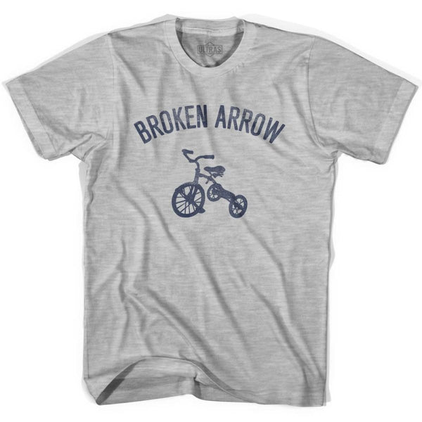 Broken Arrow City Tricycle Womens Cotton T-shirt - Tricycle City