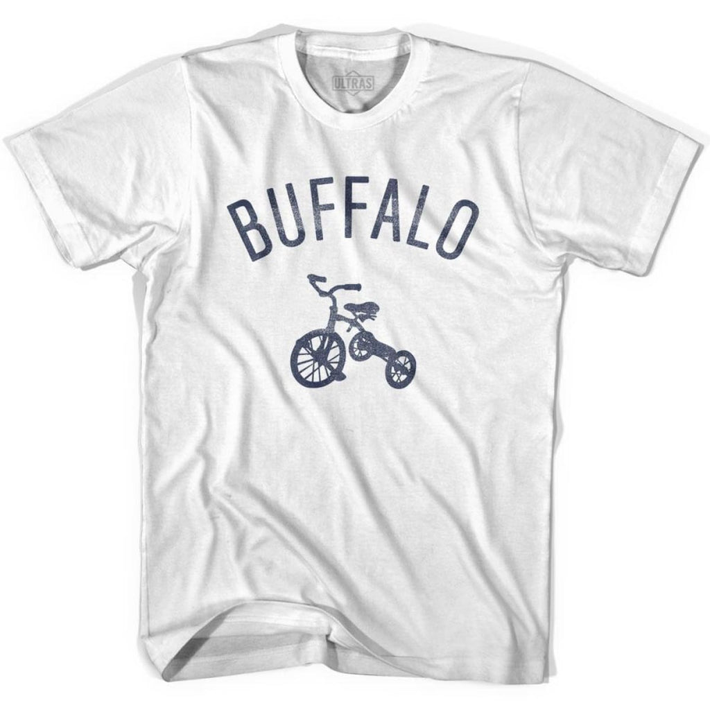Buffalo City Tricycle Womens Cotton T-shirt - Tricycle City